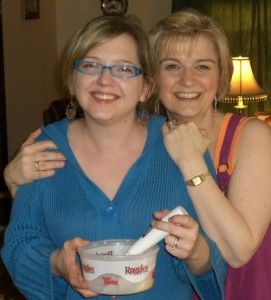 with Helen (and the rainbow sherbet)