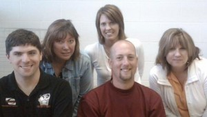 L-R: Stein, Deb, Krista, Stoney, and the Mathman