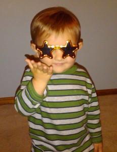 What a little rock star.