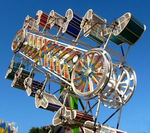 The number-one most awesome carnival ride EVER. The Zipper.
