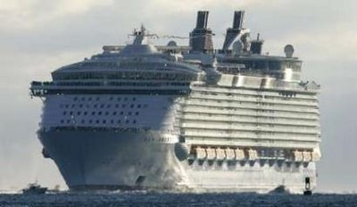 Oasis of the Seas - the world's largest cruise ship