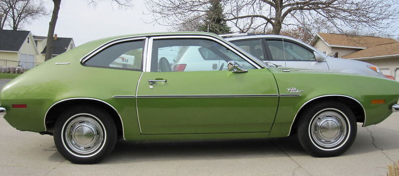 ford pinto green