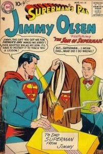 Superman crushes Jimmy's humanity