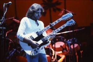 Don Felder on his Gibson SG Doubleneck, circa 1978