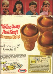 Never got these, either. What could possibly be wrong with sugar-drizzled sugar inside a sugar cone? *thumbs up*