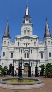 St. Louis Cathedral, which has stood on this spot since 1794.